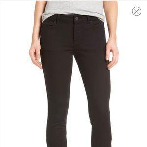 DL1961 Florence instasculpt black skinny jeans, 30